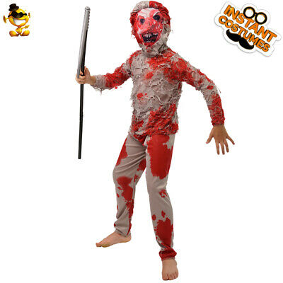 Kids Zombie Party Costume Scary Bloody Ghost for Halloween Party - Scary Costumes For Kid