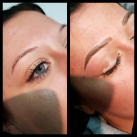 Microblading with first touch up! $300