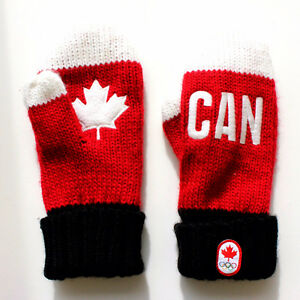 2014 Winter Olympics Canadian Mittens West Island Greater Montréal image 1