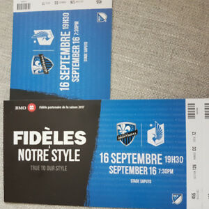 Montreal Impact Soccer Tickets