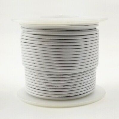 20 Awg Gauge Solid White 300 Volt Ul1007 Pvc Hook Up Wire 100ft Roll 300v
