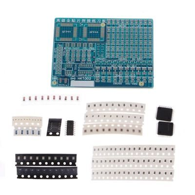 Smt Components Smd Soldering Practice Board Plate Diy Kit Resistor For Beginners