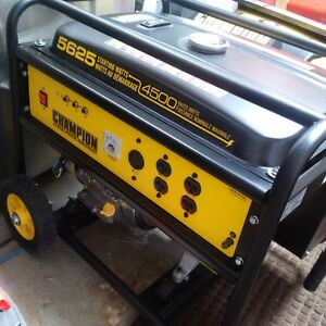 Champion Generator 5625 watt peak Kitchener / Waterloo Kitchener Area image 1