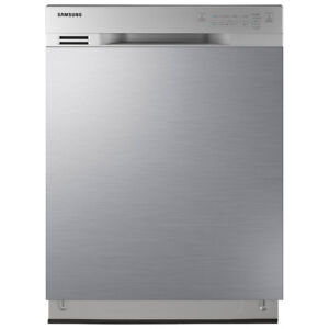 "Samsung 24"" 50 dB Tall Tub Built-In Dishwasher Stainless Steel"