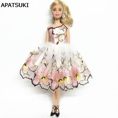 Flower Costume One-piece Dress For 11inch Doll 1/6 Fashion Party Dress Clothes](Doll Costume For Kids)