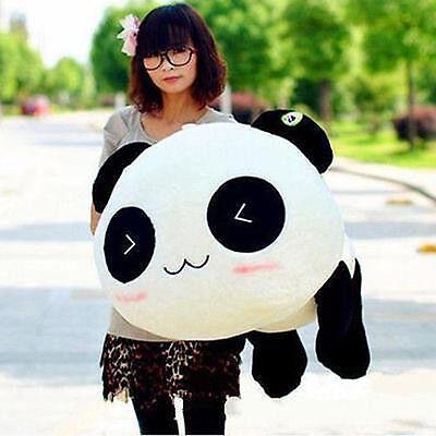 Kawaii Plush Doll Toy Animal Big Giant Panda Pillow Stuffed Bolster Gift 70CM** - Kawaii Panda Plush