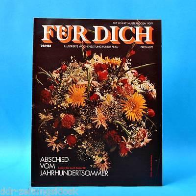 DDR FÜR DICH 39/1983 Kalkreuth Großenhain Schwarzenberg Staßfurt Jacken Hockauf