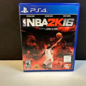 Jeu NBA2K16 sur ps4 à 12$