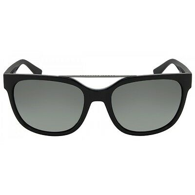NWT ARMANI EXCHANGE Sunglasses AX 4043S 815811 Black / Grey Gradient 55 mm NIB