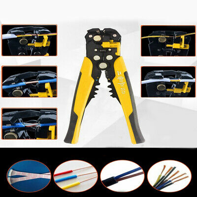 Automatic Wire Stripping Toolcutting Pliers Self-adjusting Cable Cutter Crimper