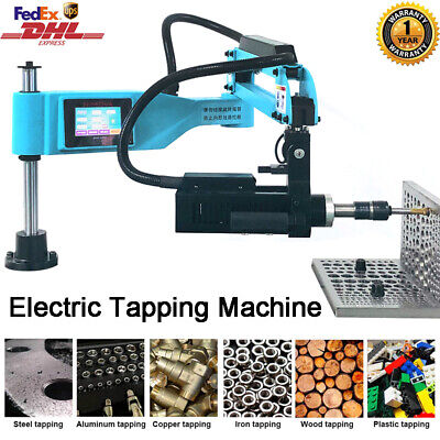 Universal 360 Electric Tapping Machine Flexible Arm M3-m16 Touch Screen 220v