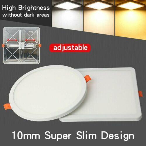 ⭐⭐⭐⭐⭐ 10 x LED Panel Einbaustrahler Deckenleuchte Einbau Leuchte Rund Spot Flach