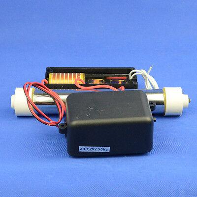 3g/h tube ozone generator 8L/m air pump water disinfect treatment 110V 220V 240V