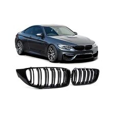 2 GRILLE CALANDRE NOIR BMW SERIE 4 F32 F33 F36 F82 F83 COUPE CABRIOLET