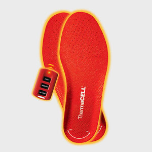 SIZE 9 OR SMALLER THERMACELL HEATED INSOLES