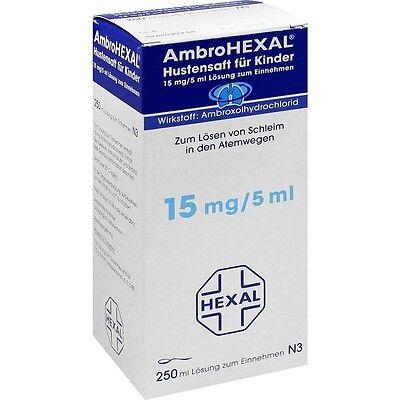 AMBROHEXAL Hustensaft für Kinder   250 ml   PZN3692398