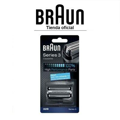 Recambio para afeitadora eléctrica Braun 32B - Para modelo Series 3 (Nueva)