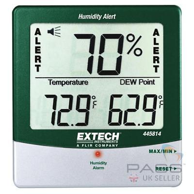 Sale Extech 445814 Thermometer Humidity Dewpoint And Temperature Alert U