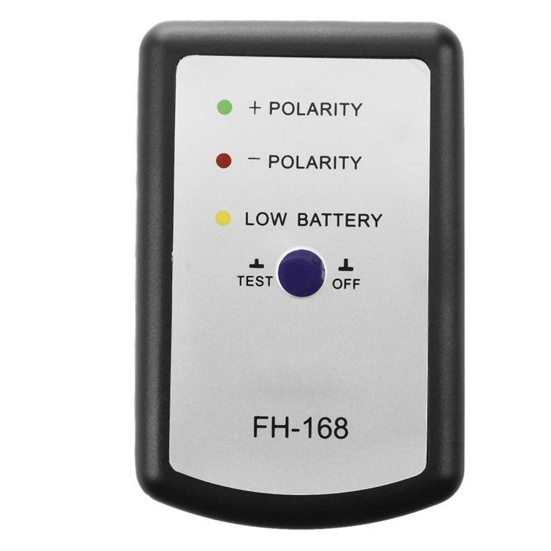 Black Speaker Polarity Tester PH Phase Meter/Phasemeter for Auto Car B2R1