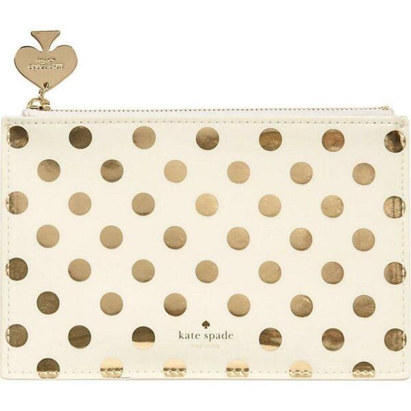 KATE SPADE NEW YORK POUCHES ($55 - $58)