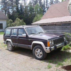 1990 Jeep laredo to trade for van