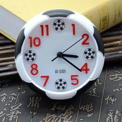 Soccer Table Decorative Football Ball Shaped Desk Clock For Outdoor Camping