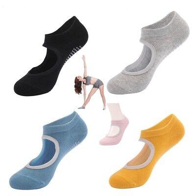 Cotton Socks Non Slip Yoga Barre Skid Pilates Barre Grips Ballet Sock For Womens Non Cotton Socks