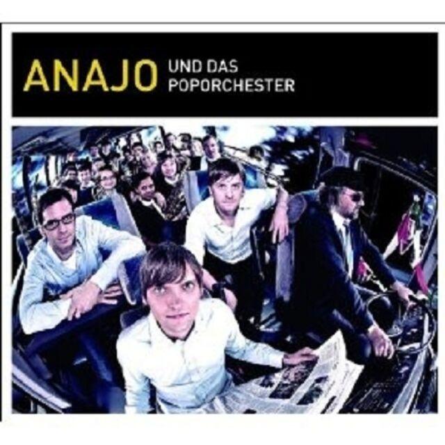 "ANAJO ""ANAJO UND DAS POPORCHESTER"" CD+DVD NEU"