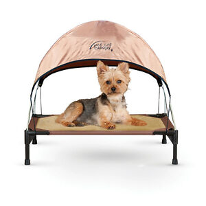 "K&H 17""x22"" Small Breed Pet Cot & Canopy"