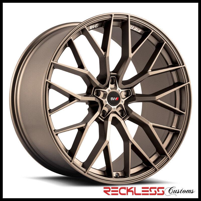 "Savini 20"" Svf-02 Matte Bronze Concave Wheel Rims Fits Hyundai Genesis Sedan"
