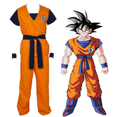 Dragon Ball Männer Cosplay Kostüm Costume, Son Goku - Dragon Ball Son Goku Kostüm