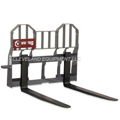 48 Virnig Walk-thru Pallet Forks Frame Attachment Bobcat Skid Steer Loader