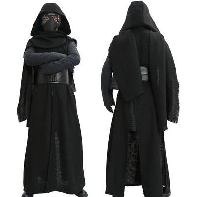 Kylo Ren Cosplay Costume Star Wars Gloves Belt Robe Props Halloween Party Adult - Halloween Adult Parties