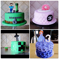 Cake decorator and event planner