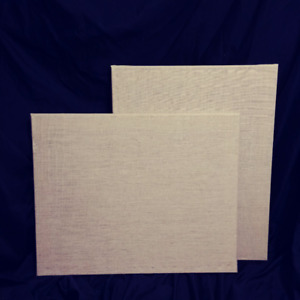 "Stretched Burlap Canvas from Michaels 20""x 16"" x 2"