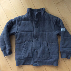 GAP grey boys coat size 4/5