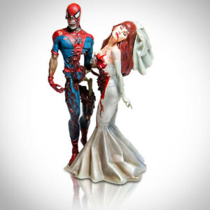 SPIDER-MAN ZOMBIE & MARY JANE Limited Edition Statue