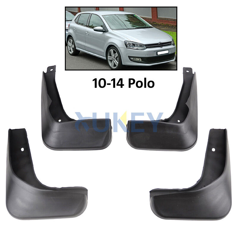 Mud Flaps Splash Guards Fit For Volkswagen VW POLO MK5 2010-2014 Mudflaps