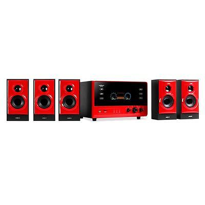5.1 AKTIV LAUTSPRECHER ANLAGE HEIMKINO HIFI PC BOXEN SET SURROUND SOUND SYSTEM