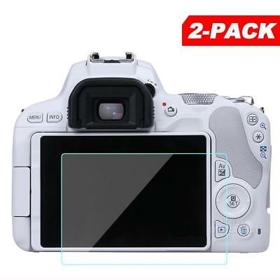 2x Tempered Glass Screen Protector for Canon EOS 200D / Rebel SL2 / Kiss X9