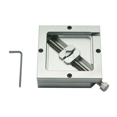 9090mm Universal Silver Bga Reballing Station Stencil Holder Foxture Jig For