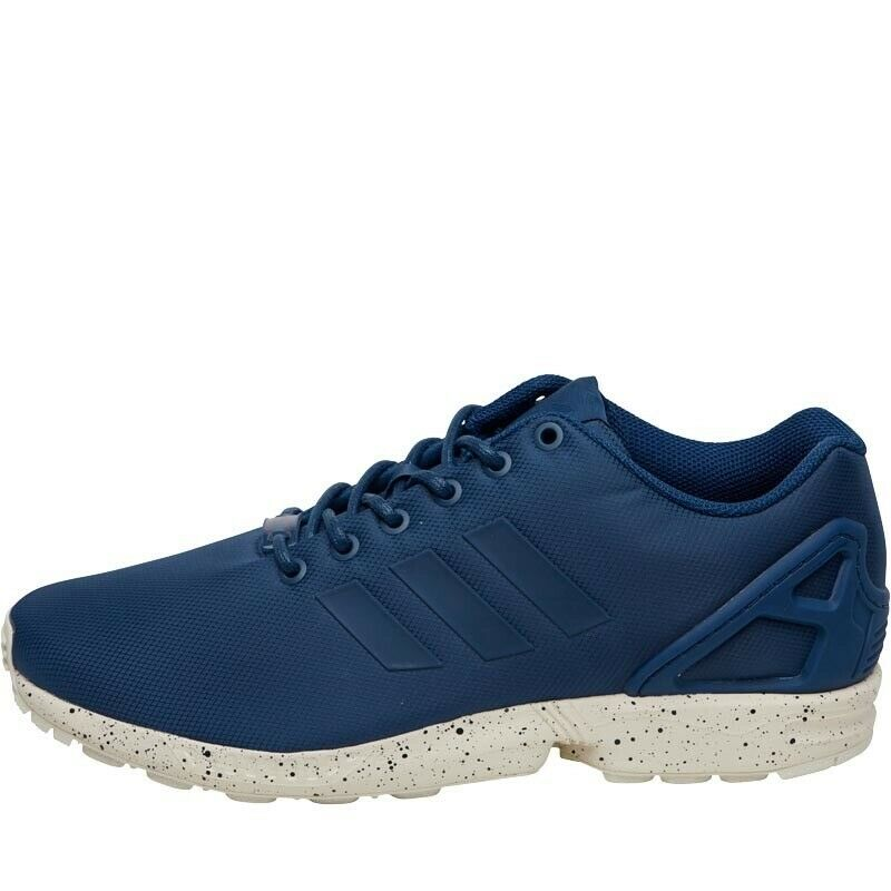 low priced 559a0 3ffdc Adidas Originals ZX Flux Shoes Tech Steel/Utility Blue/Chalk White - Brand  New - Size 10 | in Stratford, London | Gumtree