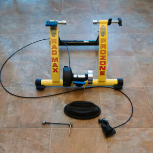 Bicycle trainer:  RAD Cycle Products 1102 Prozone