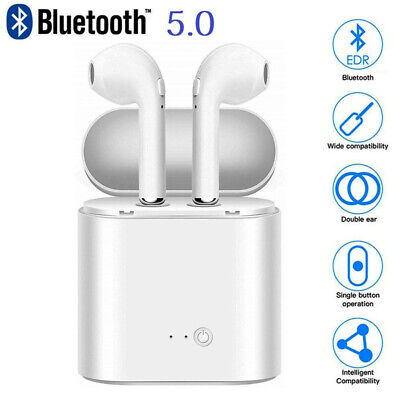 Bluetooth Wireless Headphones Headset Earbud Pods Charging Case Christmas Gift