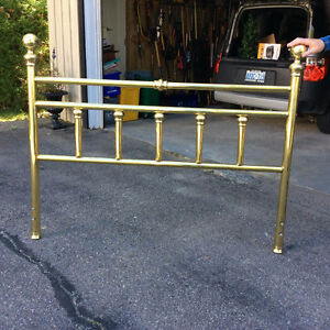 Beautiful Brass Queen Headboard