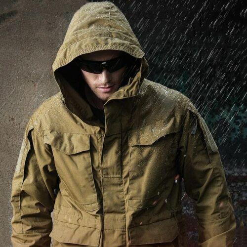 M65 Military Tactical Jackets Men Waterproof Windbreaker Jacket  Male Hooded Coa