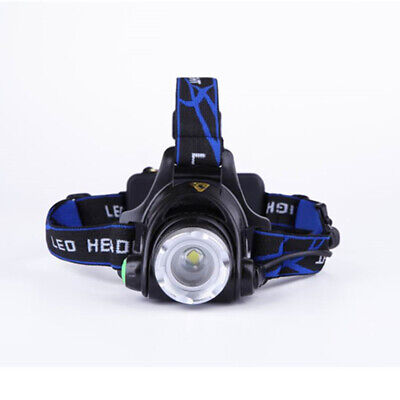 12000LM Headlamp XML Zoomable Rechargeable for Night Fishing Practical
