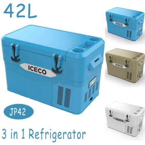 ICECO JP42 44 Quart Car Portable Fridge Freezer Camping Cooler 12V Refrigerator