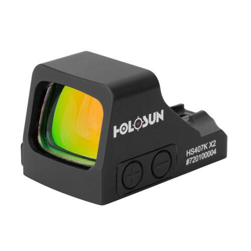Holosun Red Dot Handgun Reflex Sight 6 MOA Dot HS407K X2
