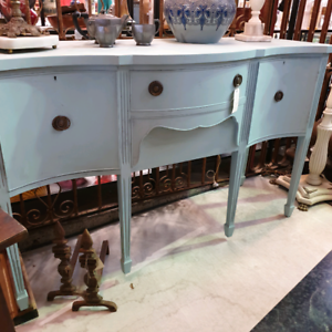 Duck egg blue chalk painted sideboard